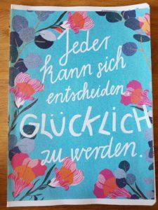 Glücksmomente-Heft Din A4