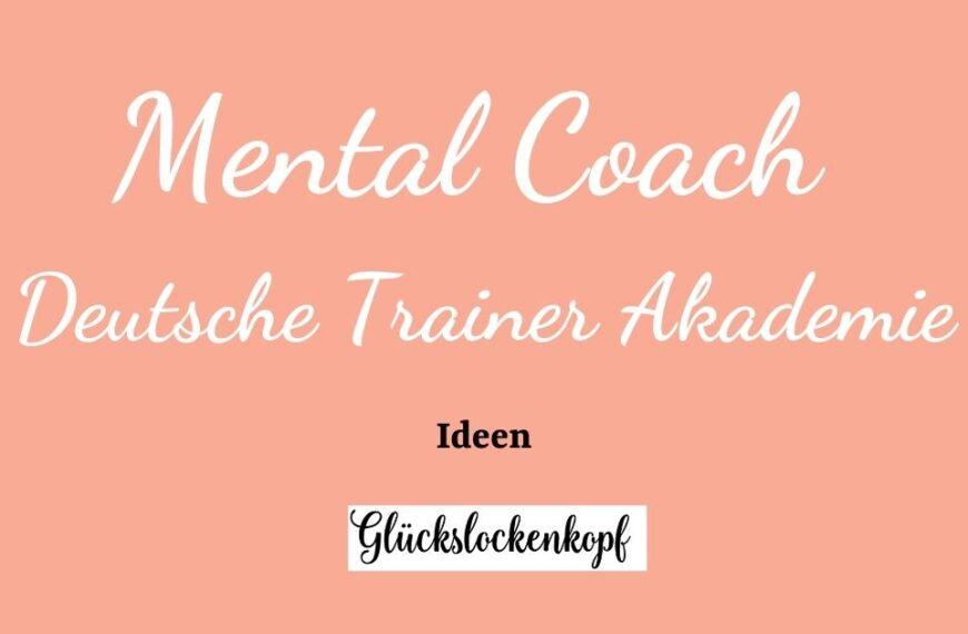 Mental Coach-Weiterbildung